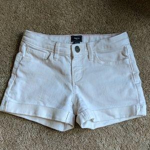 Gap Kids White Jean Shorts!